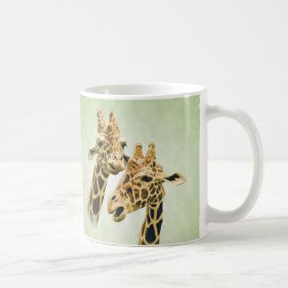 Taza De Café Charla de la jirafa
