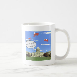 Taza De Café Charla del congreso y de la violencia armada