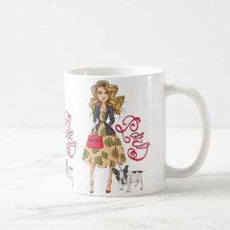 Taza De Café Chica con el dogo