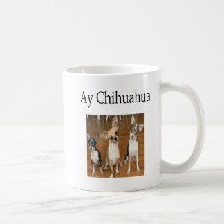 Taza De Café Chihuahua de Ay