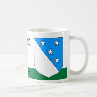 Taza De Café Cielo por completo del escudo de las estrellas de