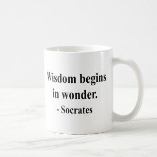 Taza De Café Cita 1a de Sócrates