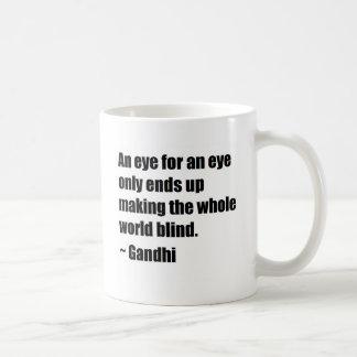 Taza De Café Cita de Gandhi