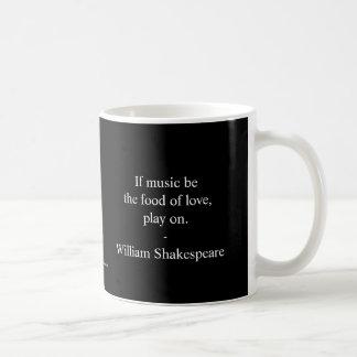 Taza De Café Cita de William Shakespeare - amor