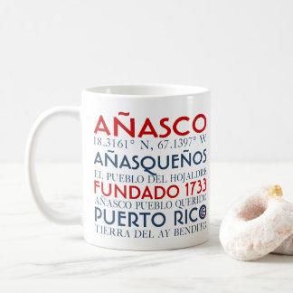 Taza De Café Ciudad de Anasco, Puerto Rico