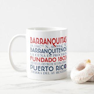 Taza De Café Ciudad de Barranquitas, Puerto Rico