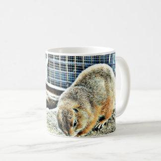 Taza de café clásica de dos Gopher