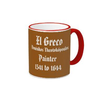 Taza de café clásica de El Greco