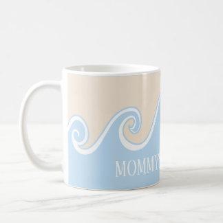 """Taza de café clásica """"debajo de la taza de Sippy"""