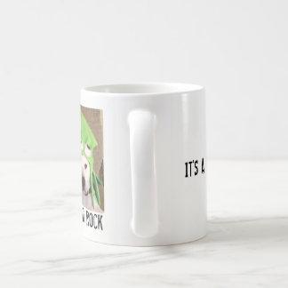 Taza de café clásica del pitbull