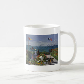 Taza De Café Claude Monet - el jardín en el arte de Sainte