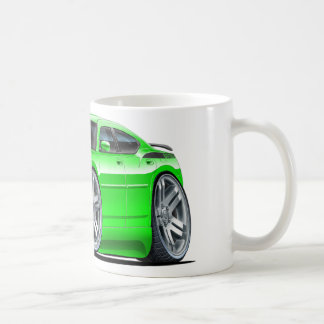 Taza De Café Coche verde de Daytona del cargador de Dodge