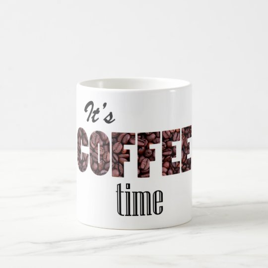 Taza De Café Coffee Time Cup
