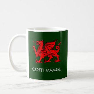 Taza De Café Coffi Mamgu - el café de NaN en Galés del sur