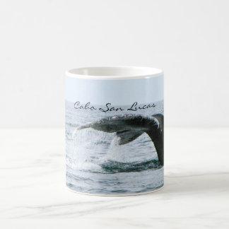 Taza De Café Cola de la ballena jorobada, Cabo San Lucas