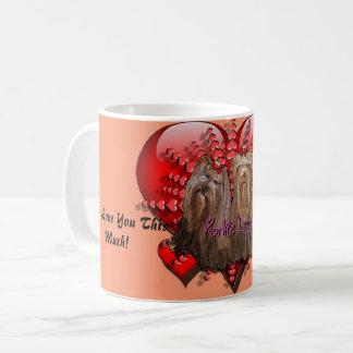 Taza De Café Colección del amor de Yorkie