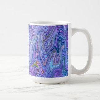 Taza De Café colores cremosos, azules