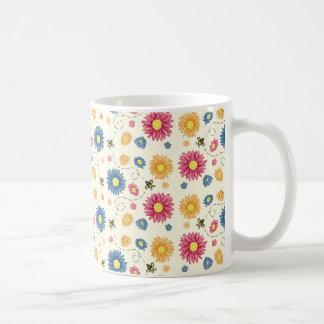 Taza De Café Colores de la primavera