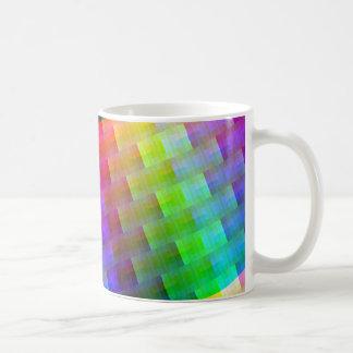 Taza De Café colores tejidos