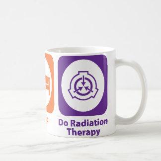 Taza De Café Coma el sueño hacen radioterapia
