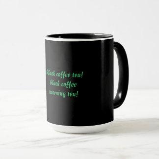 taza de café combinada