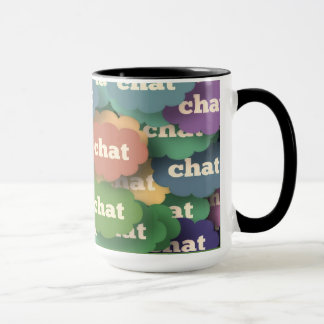 "taza de café combinada 15oz ""charla"" por Zazz_it"