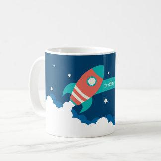 Taza De Café Combustible de Rocket