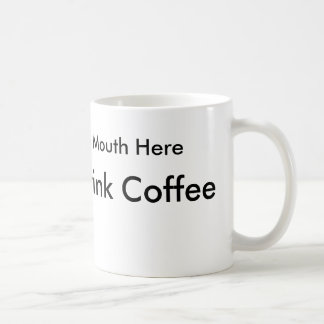 Taza De Café Cómo beber el café para la gente zurda