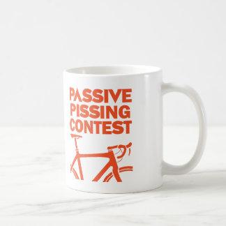 Taza De Café Competencia Pissing pasiva