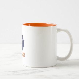 Taza de café con el logotipo de Copenhague