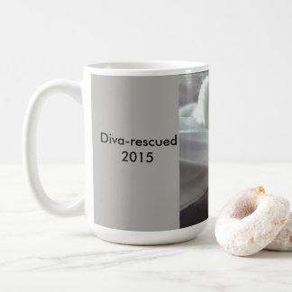 Taza de café con el Pic. del gato del rescate