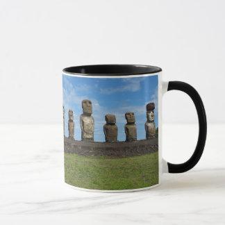 Taza de café con monograma de Rapa Nui