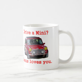 Taza De Café ¿Conduzca un mini? Jesús le ama
