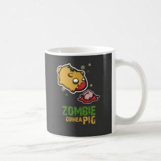 Taza De Café Conejillo de Indias lindo del zombi