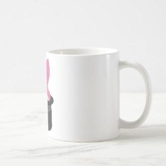 Taza De Café Conejito rosado lindo para Pascua feliz