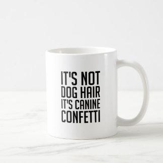 Taza De Café Confeti canino