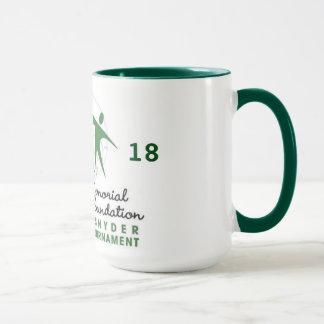 Taza de café conmemorativa anual de 18 Patricia