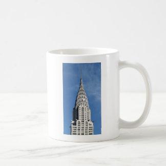 Taza De Café Construcción de plata de Chrysler