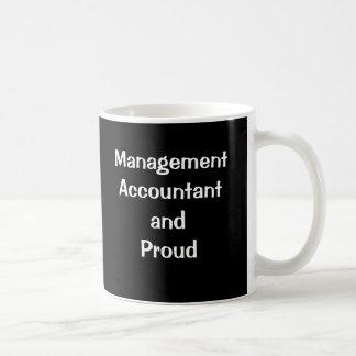 Taza De Café Contable de la gestión y orgulloso