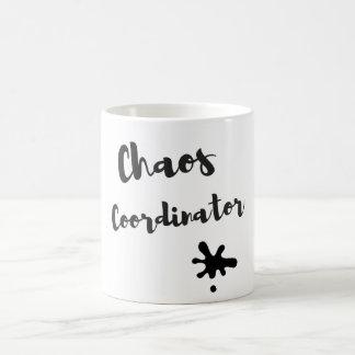 Taza De Café Coordinador del caos