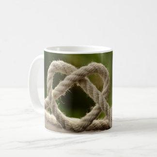 Taza De Café Corazón de la cuerda