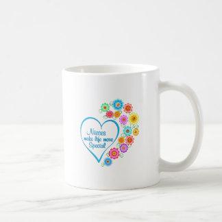 Taza De Café Corazón del Special de las sobrinas