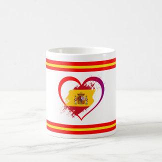 Taza De Café Corazón español