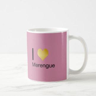 Taza De Café Corazón juguetónamente elegante Merengue de I