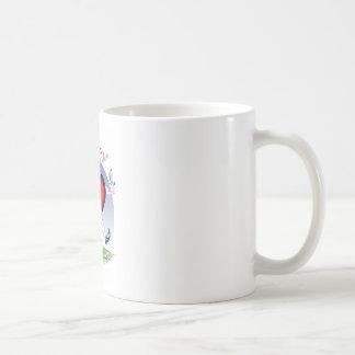 Taza De Café corazón principal de Luisiana, fernandes tony