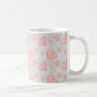 Taza De Café Corazón rosado