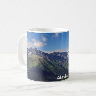 Taza De Café Cordillera de Chugach de Alaska