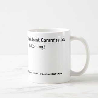 Taza De Café ¡Corra, la Comisión común está viniendo!