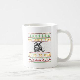 Taza De Café corte del diseño de la motocicleta