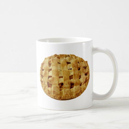 Taza De Café Corteza hecha americana del zigzag de la empanada